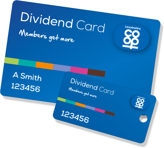 dividend card example image