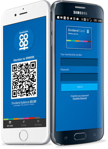 Download the dividend app - Lincolnshire Co-op